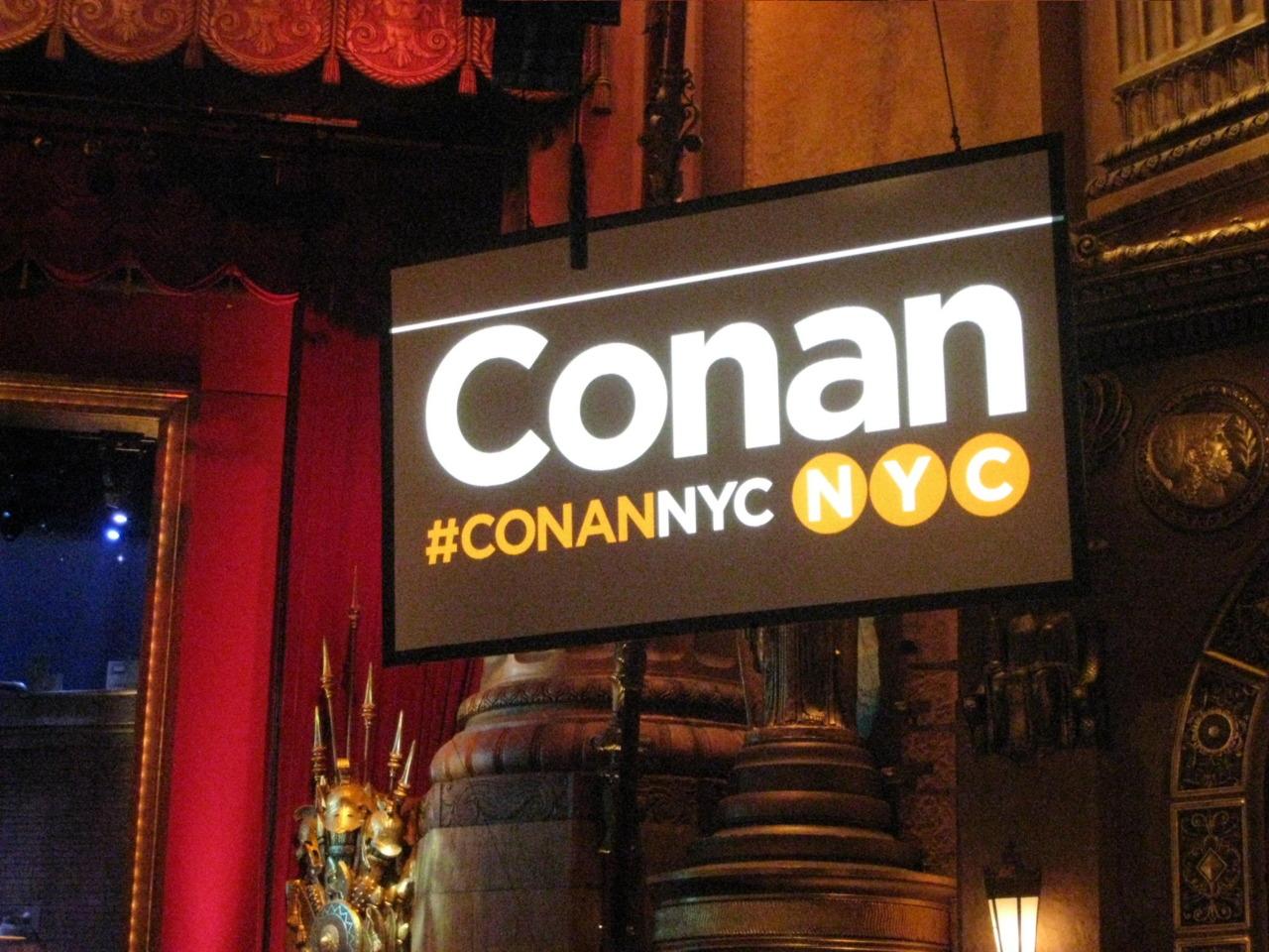 Conan in NYC