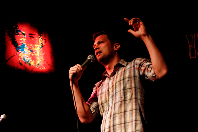 Julian McCullough (performing at 'Something Awesome')