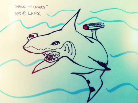 Shark With Lasers (for @LaFix)
